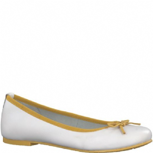 Marco Tozzi 2-2-22117-20-134 White/Sun Womens Shoes